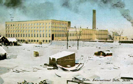 Paper Mills, International Falls Minnesota, 1911