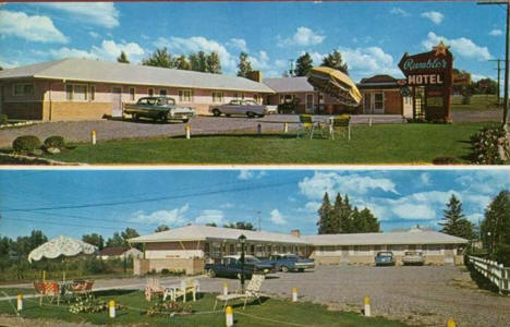 Rambler Motel International Falls Minnesota 1962