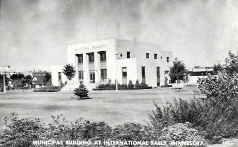Municipal Building, International Falls Minnesota, 1947
