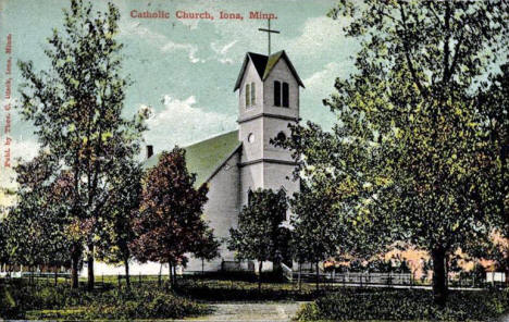 Catholic Church, Iona Minnesota, 1914