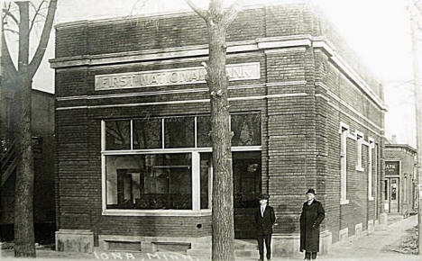 First National Bank, Iona Minnesota, 1910's