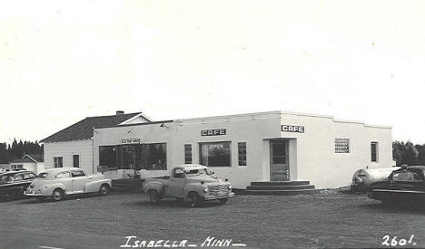 Post Office and Cafe, Isabella Minnesota,1950's