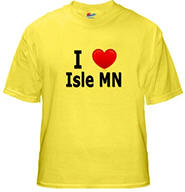 I Love Isle Yellow T-Shirt