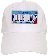 Mille Lacs License Plate Cap
