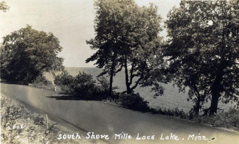 South Shore of Lake Mille Lacs near Isle Minnesota, 1937