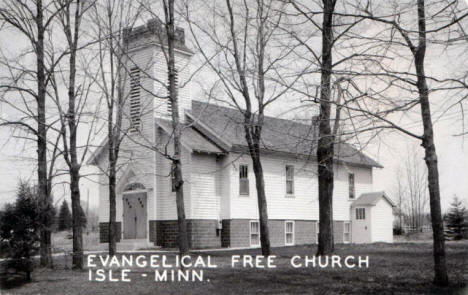 Evangelical Free Church, Isle Minnesota, 1940's?