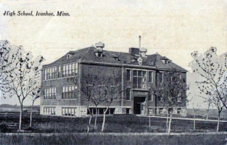 High School, Ivanhoe Minnesota, 1910