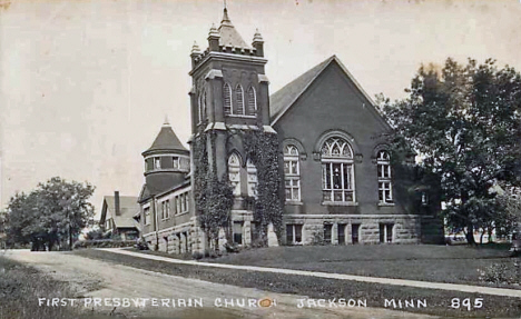 First Presbyterian Church, Jackson Minnesota, 1930's?