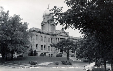 Court House, Jackson Minnesota, 1950's