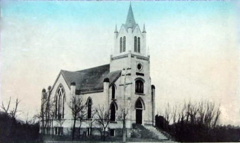 Norwegian Church, Jackson Minnesota, 1910's