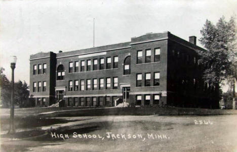 High School, Jackson Minnesota, 1923