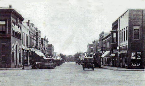 Main Street South, Jackson Minnesota, 1925