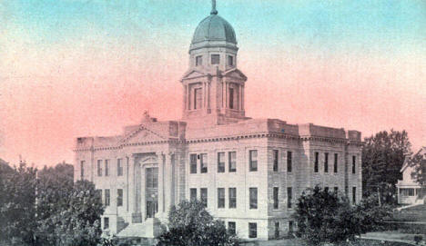 Jackson County Court House, Jackson Minnesota, 1914