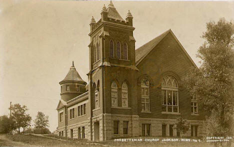Presbyterian Church, Jackson Minnesota, 1910