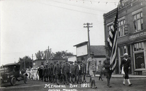Memorial Day, Jackson Minnesota, 1921
