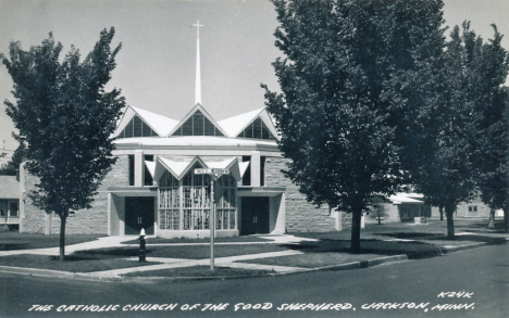 Catholic Church of the Good Shepherd, Jackson Minnesota, 1960's