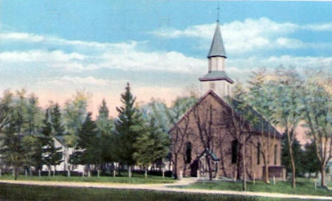 St. Joseph's Church, Scott County near Jordan Minnesota, 1948