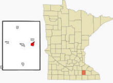 Location of Kasson, Minnesota
