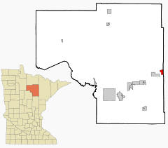 Location of Keewatin, Minnesota