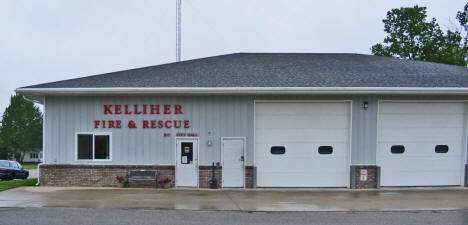 Kelliher Fire and Rescue, Kelliher Minnesota, 2009