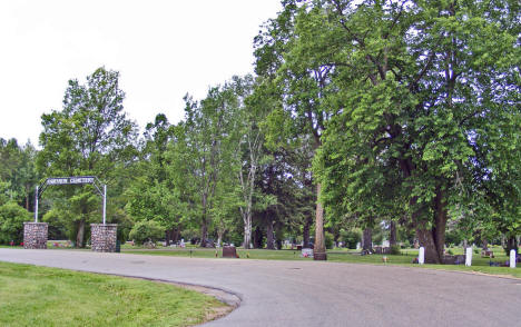Fairview Cemetery, Kelliher Minnesota, 2009