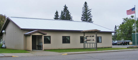 North Beltrami Community Center, Kelliher Minnesota, 2009