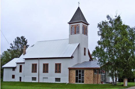 Our Savior Lutheran Church, Kelliher Minnesota, 2009