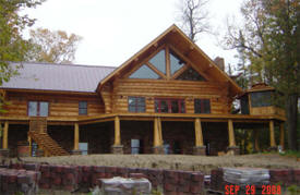 Heim Handcrafted Log Homes, Kelliher Minnesota