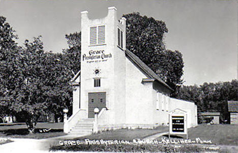 Grace Presbyterian Church, Kelliher Minnesota, 1950's