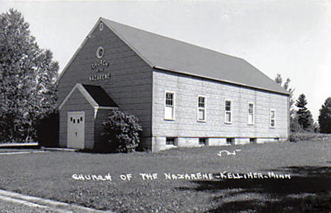 Church of the Nazarene, Kelliher Minnesota, 1950's
