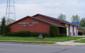 Kennedy Fire Hall, Kennedy Minnesota