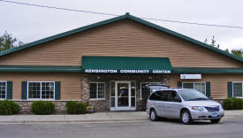 Kensington Community Center, Kensington Minnesota