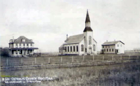 Catholic Church, Kent Minnesota, 1909