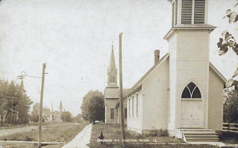 Church Street, Kenyon Minnesota, 1911