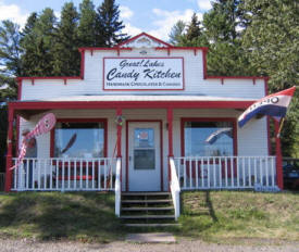 Great Lakes Candy Kitchen, Knife River Minnesota