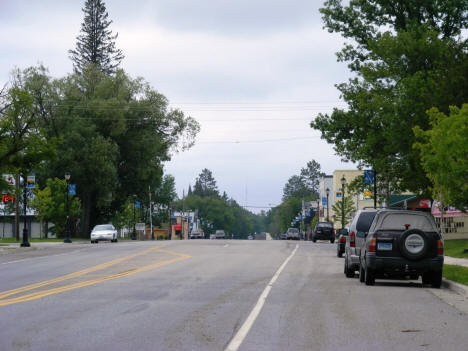 View of Main Street in Downtown Littlefork, 2007