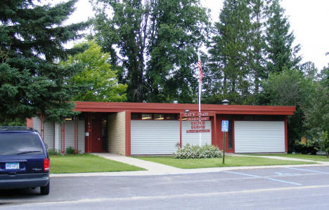 Littlefork Minnesota City Hall, 2007