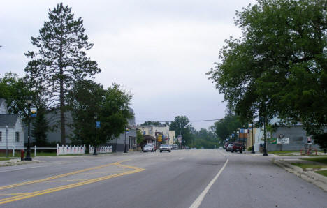 View of Downtown Littlefork Minnesota on Main Street, 2007