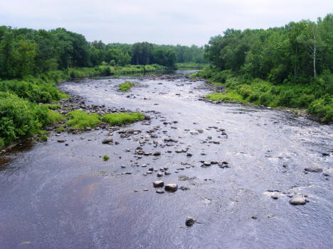 Littlefork River in Littlefork Minnesota, 2007