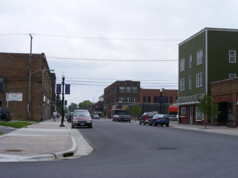 View of Downtown International Falls Minnesota, 2007