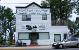 Woody's Rainy Lake Resort, Ranier Minnesota