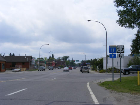 Junction Highway 11 and Highway 53, International Falls Minnesota, 2007