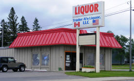 Trader Al's Liquors, International Falls Minnesota