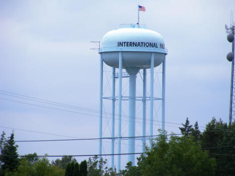 International Falls Minnesota Water Tower, 2007