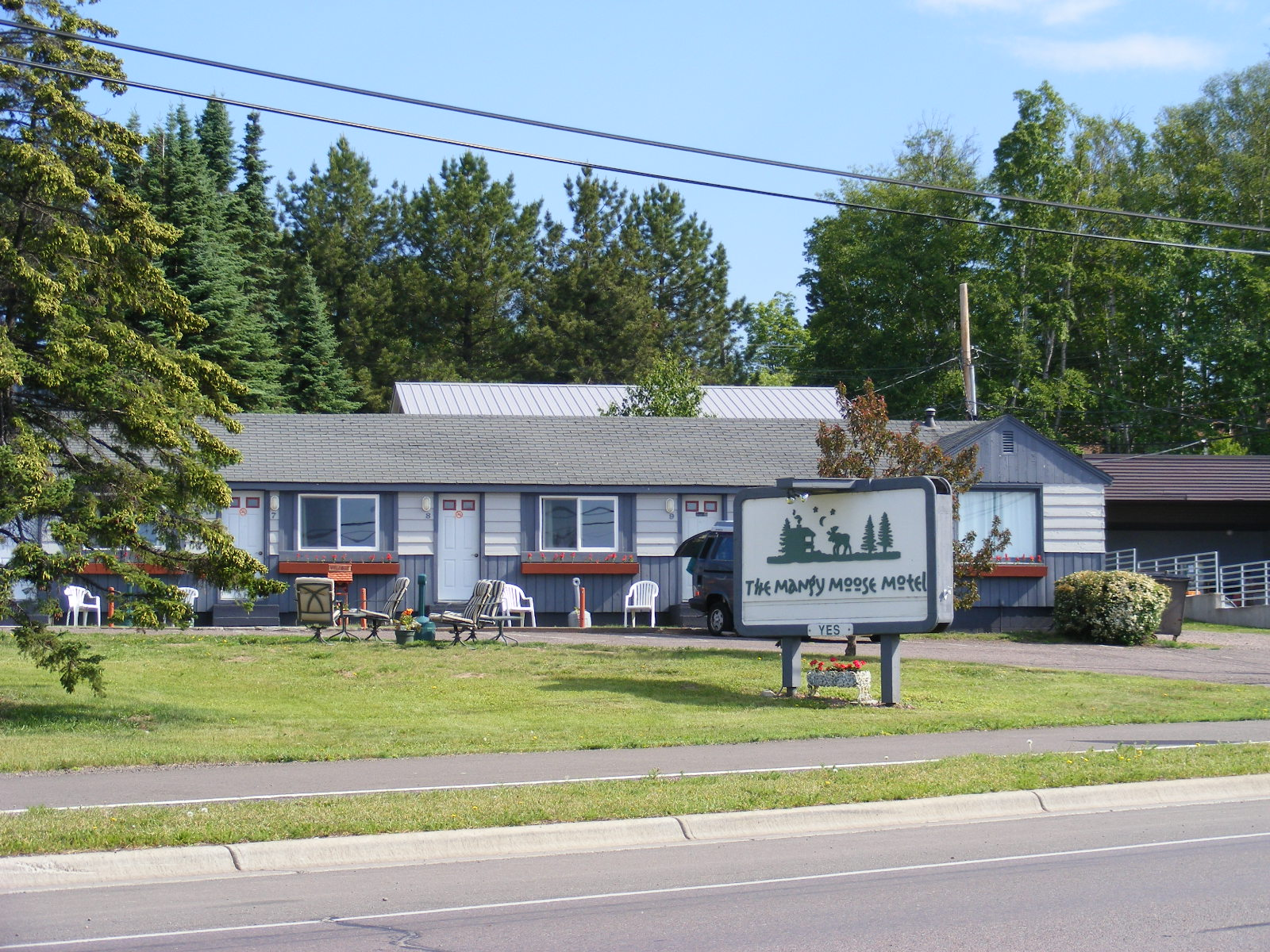 Mangy Moose Motel Grand Marais Minnesota