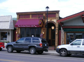 Crooked Spoon Cafe, Grand Marais Minnesota