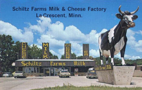 Schiltz Farms Milk and Cheese Factory, La Crescent Minnesota, 1960's