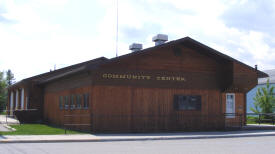 Lake Bronson Community Center, Lake Bronson Minnesota