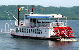 Lake Pepin Paddleboat Co., Lake City Minnesota