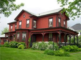 Red Gables Inn Bed & Breakfast, Lake City Minnesota